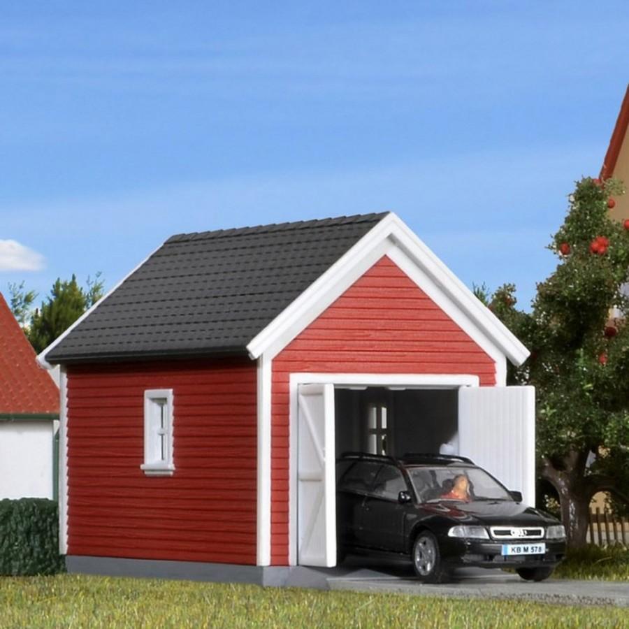garage ou cabane de jardin ho 1 87 kibri 38150 ebay. Black Bedroom Furniture Sets. Home Design Ideas