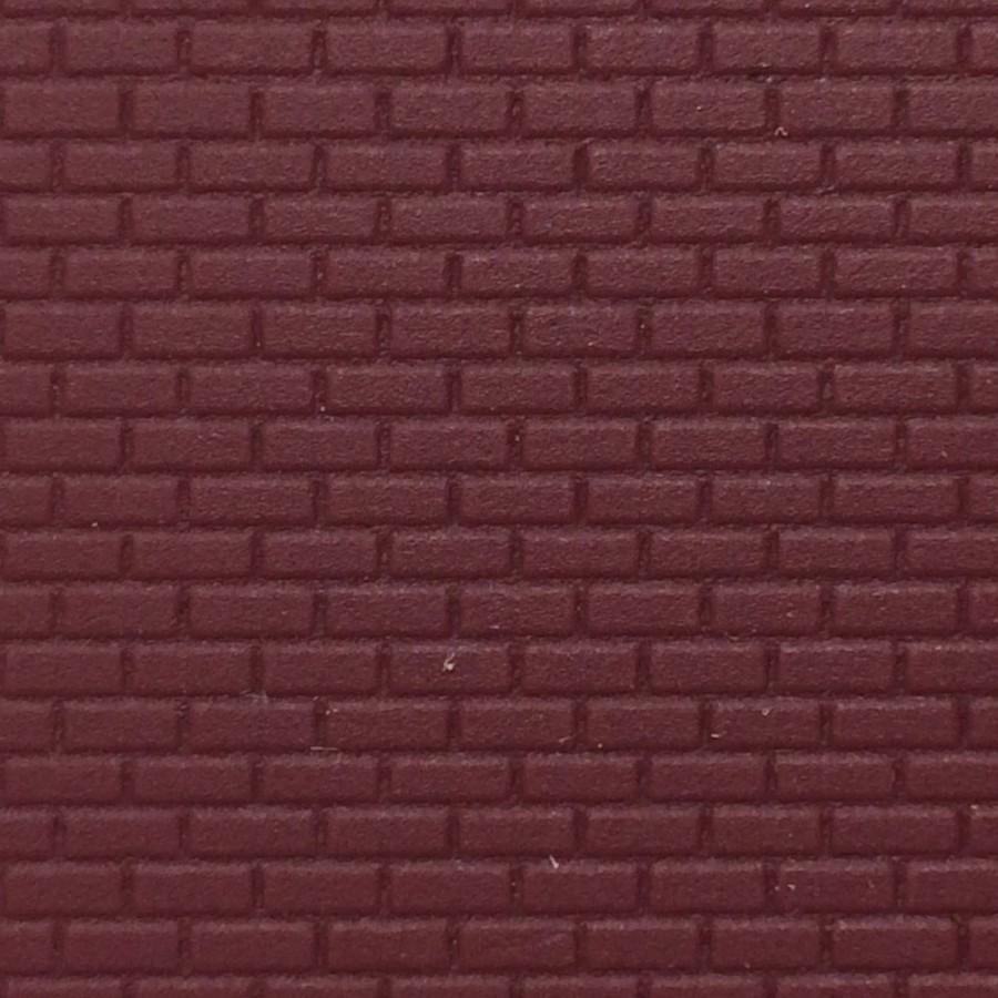plaque plastique mur en brique ho 1 87 kibri 34122. Black Bedroom Furniture Sets. Home Design Ideas
