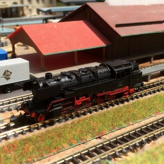 Locomotive vapeur BR 85003 occasion + boite-Z-1/220-MARKLIN miniclub 88885 ZL23