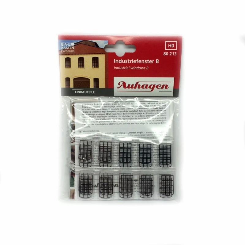 30 fenêtres petits bois Auhagen 80213 ho modélisme ferroviaire