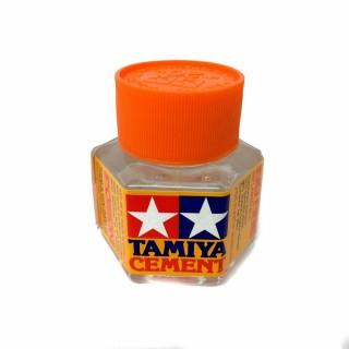Colle avec pinceau pour maquette plastique 20ml-TAMIYA 87012
