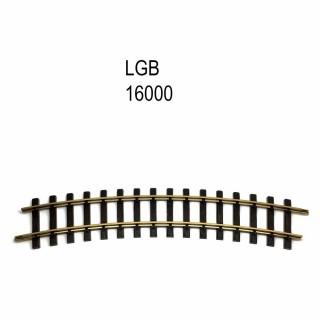 Rail courbe R3 2390mm 22.5 degrés train de jardin -G-1/28-LGB 16000
