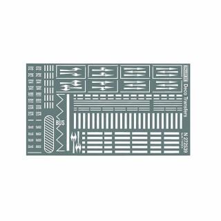 Feuille de signalisations horizontales pour route-N-1/160-FALLER 272451