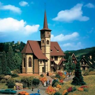 Eglise de village maquette à monter -N-1/160-VOLLMER 47736