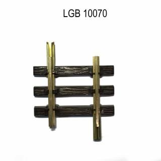 Rail droit 75mm train de jardin -G-1/28-LGB 10070