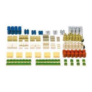 130 caisses, sacs, fûts et casiers à peindre -N-1/160-PREISER 79566