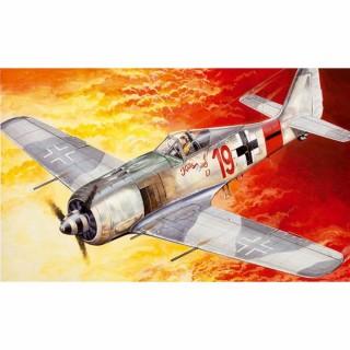 Avion FW 190 A-8 maquette à monter avec peinture-1/72-ITALERI 70392