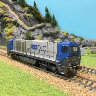 Locomotive MAK G2000 DLC digitale sound occasion-HO-1/87-MEHANO T275 DEP17-22