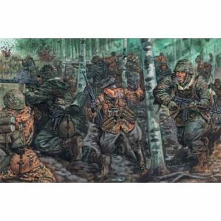 48 figurines Allemandes troupe d'élite 2ème guerre mondiale-1/72-ITALERI 6068