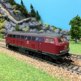 Locomotive diesel BR218 DB epIV Digitale -HO-1/87-FLEISCHMANN 631681A