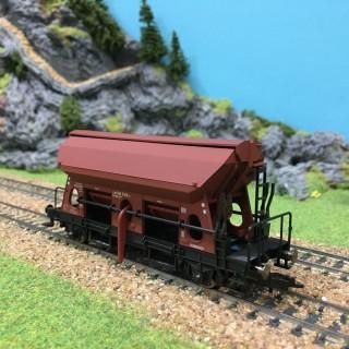Wagon trémie fonctionnelle DB ép IV -HO-1/87-FLEISCHMANN 631681B