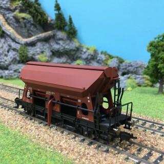 Wagon trémie fonctionnelle DB ép IV -HO-1/87-FLEISCHMANN 631681D