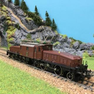 Locomotive Crocodile Ce 6/8 digitale occasion-HO-1/87-MARKLIN 3352 DEP17-30