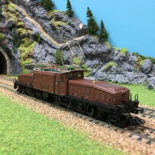 Locomotive Crocodile Ce 6/8 SBB digitale occasion-HO-1/87-MARKLIN 39562 DEP17-35