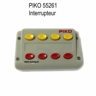 Boitier 4 commandes interrupteurs lumières... -Toutes échelles-PIKO 55261