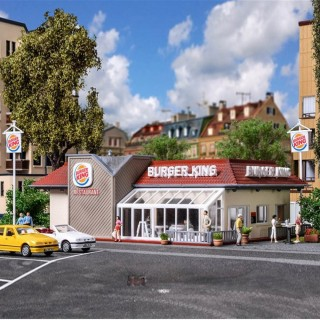 Restaurant Burger King maquette à monter -HO-1/87-VOLLMER 43632