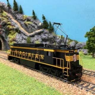 Locomotive GE E33 électrique Virginian 140 HO-1/87-SPECTRUM 82402 DEP17-59