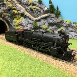 Loco PRR K4s 5441 Pennsylvania digitale son HO-1/87-BROADWAY L 324 DEP17-52