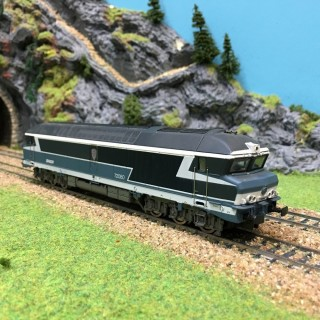 Locomotive CC72080 Sncf occasion HO-1/87-Jouef 857300 DEP21-03