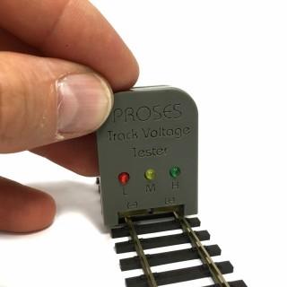 Testeur de tension pour vos rails-Z/N/TT/HO/OO-PROSES VT-001