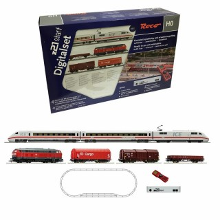 Coffret digital Z21 + multimaus ICE + diesel DB ép V-VI-HO-1/87-ROCO 51286