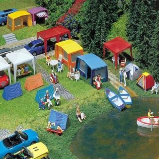 Tentes, abris et accessoires camping-HO-1/87-FALLER 130504