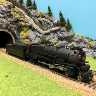 Locomotive PRR M1a Pennsylvania 6735 digital son-HO-1/87-BROADWAY L.051-DEP17-240