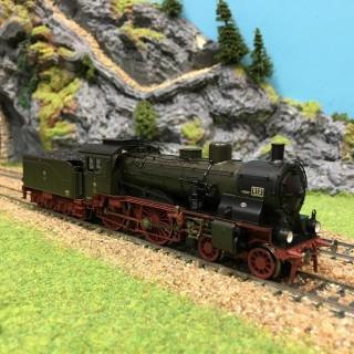 Locomotive vapeur S6 K.P.E.V. époque I -HO-1/87-FLEISCHMANN 411302