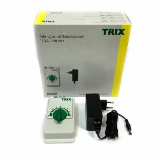 Transformateur variateur et sortie accessoires-Toutes échelles-TRIX 66508