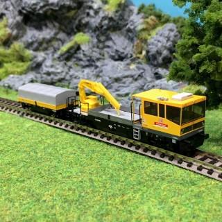 Draisine Robel avec son wagons epV-N-1/160-HOBBYTRAIN 23561