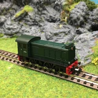 Locotracteur diesel type 030 DB6 Sncf epIII -N-1/160-HOBBYTRAIN H2856