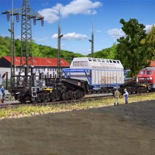 Wagon UNION Uaais 819 charge lourde -HO-1/87-KIBRI 16504