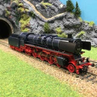 Locomotive DB 03 1014 3 rails digitale son -HO-1/87-ROCO 69281 DEP17-383