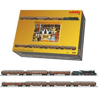 Coffret Orient Express Set avec locomotive -HO-1/87-MARKLIN 26922