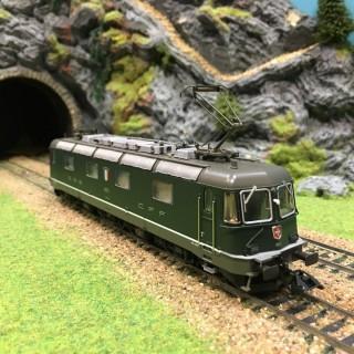 Locomotive Série Re 6/6 f SBB CFF FFS digitale son-HO-1/87-MARKLIN 37324 DEP39-64