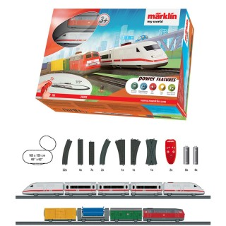 Coffret de démarrage Premium My World-HO-1/87-MARKLIN 29301