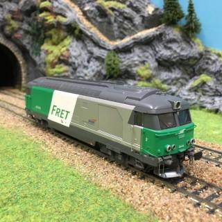 Locomotive BB67449 Fret Sncf -HO-1/87-JOUEF HJ2004 L230