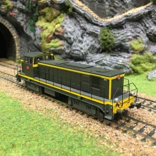 Locomotive BB63074 Nevers Sncf époque IV -HO-1/87-R37 41026
