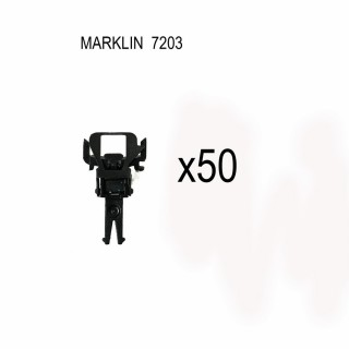 50 attelages boucle Marklin NEM-HO-1/87-MARKLIN 7203
