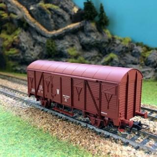 Wagons couvert Sncf -HO-1/87-JOUEF Hj6059 DEP13-89