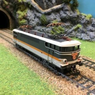 Locomotive BB9281 Sncf -HO-1/87-JOUEF DEP42-01