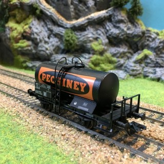 Wagon citerne pechiney Sncf occasion -HO-1/87-SACHSENMODELLE 76412 W266