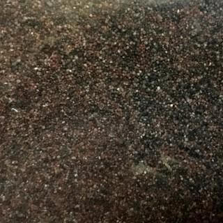 Pierre naturelle marron rouille fin ballast ou diorama 500g-HO et N- HEKI 3173