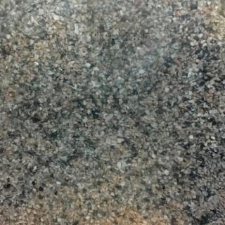 Pierre naturelle blanc noir rose ballast ou diorama 500g-HO et N- HEKI 3174