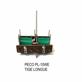 Moteur d'aiguillage faible consommation tige longue-HO-1/87-PECO PL-10WE