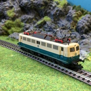 Locomotive E-lok BR110 DB -N-1/160- FLEISCHMANN 7333 DEP43-02
