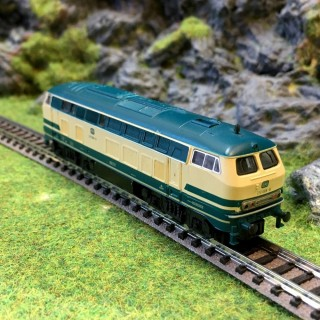 Locomotive V 210 Ocean Blue DB -N-1/160- FLEISCHMANN 7233 DEP43-04
