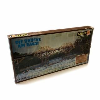 Pont de la rivière Kwai maquette occasion -HO-1/87-FALLER B568 DEP10-20
