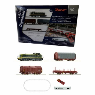 Coffret digitale Z21 + multimaus BB63714 Sncf-HO-1/87-ROCO 51267
