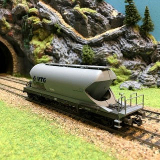 Wagon silo Aacs VTG époque V-HO-1/87-HERIS 11515-1